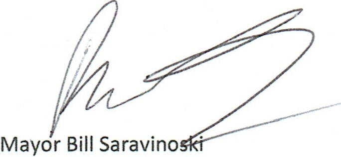 mayor signature